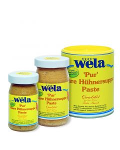 Huhn pur Paste